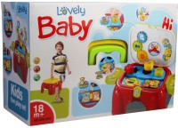 Mera Toy Shop Baby Lovely Kids Fun Play Set (Multicolor)