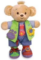Genius Baby Toys Learn To Dress Doll Bearemy Bear (Multicolor)