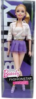 Shoplorry White Color Beauty Fashion Star Doll (White)