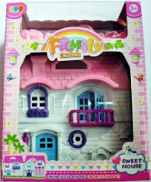 Ruppiee Shoppiee Family Welcome Sweet House (Multicolor)