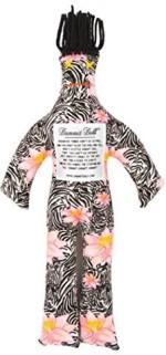 Dammit Dolls Dolls & Doll Houses Dammit Dolls Dammit Classic Dammit Fleurs Sauvages Artisiques Zebra