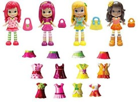 The Bridge Direct strawberry shortcakeberry bitty friends exclusive set
