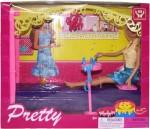 Venus Planet of Toys Dolls & Doll Houses Venus Planet of Toys Pretty Doll Bedroom Set