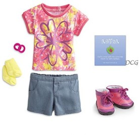 American Girl Myag Hiking Outfit For Not Included
