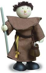 Budkins Dolls & Doll Houses Budkins Friar Tuckfriend Of Robin Hood