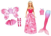 Barbie Fairytale Royal Dress Up Doll (Multicolor)