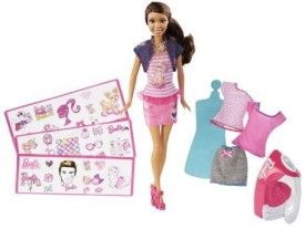 Barbie Ironon Style African American