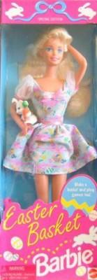 Barbie Dolls & Doll Houses Barbie Easter Basket Special Edition