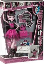 Monster High Dolls & Doll Houses Monster High Fearbook Draculaura Doll