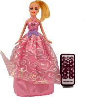 Comfort Living Beautiful Remote Control Intelligent Princess Dancing, Singing And Moving (Pink)