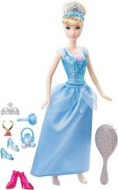 Mattel Sparkle Princess Cinderella Doll and Accessories