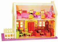 Zaprap Toys Complete Doll House Play Set (Multicolor)