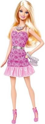 Barbie Dolls & Doll Houses Barbie Fashionista Party Glam Pink Strapless Dress