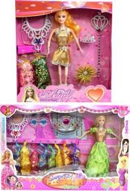 Amaya Pretty Fashion Doll418 Set Of 2