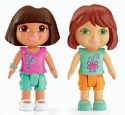 Fisher-Price Dora And Red Hair Friend - Multicolor
