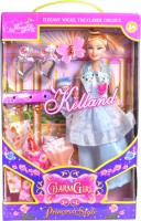 Peekaboo Charm Girl Doll (Big) (Multicolor)