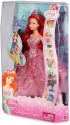 Barbie Disney Princess 2-In-1 Ballgown Surprise Ariel Doll - Pink