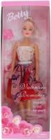 Tootpado Beautifull Betty Girl Doll As Fashion Diva - 1c161 - Fun Fashion Holiday Toys For Kids (Red)