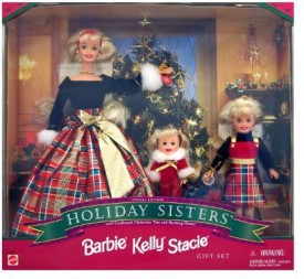Mattel Barbie Special Edition Holiday Sisters - 1998