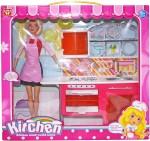 Venus Planet of Toys Dolls & Doll Houses Venus Planet of Toys Fashion Glam Doll W Dlx Kitchen