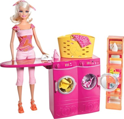 Barbie Dolls & Doll Houses Barbie Doll Laundry