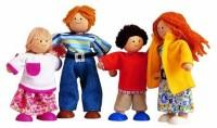 PlanToys Modern Doll Family #7142 (Multicolor)