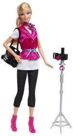 Mattel Dolls & Doll Houses Mattel Barbie I Can Be A Fashion Photographer Exclusive