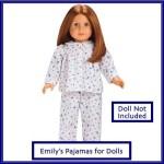 American Girl Dolls & Doll Houses American Girl Emily'S Pajamas For