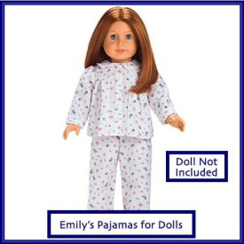 American Girl Emily'S Pajamas For