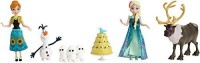 Mattel Disney Frozen Fever Birthday Party Small Doll Set (Pink)