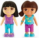 Fisher-Price Dora And Black Hair Friend - Multicolor
