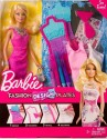 Barbie Fashion Design Plates Barbie Doll - Pink