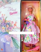 Avon Special Edition Spring Petals Barbie Doll Second In Series (Multicolor)