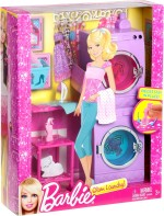 Barbie Dolls & Doll Houses Barbie Glam Laundry Room