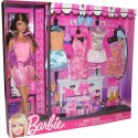 Barbie Fashion Pink Dress Gift Set (T3539 X4851) - Multicolor