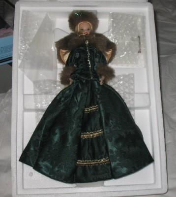 Mattel Dolls & Doll Houses Mattel Holiday Caroler Porcelain Barbie Collection