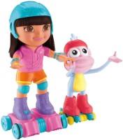 Fisher-Price Skate & Spin Dora & Boost (Multicolor)