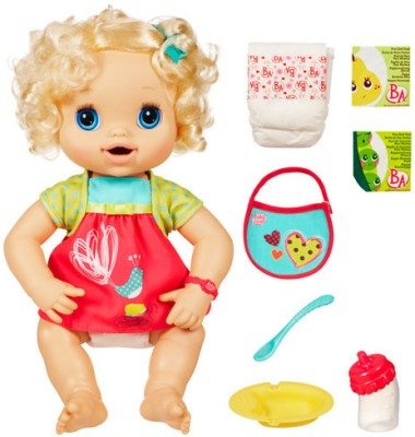 Baby Alive Dolls & Doll Houses Baby Alive My Baby Alive Blonde