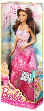 Barbie Dolls & Doll Houses Barbie Pink n Fabulous and Mix n Match Dolls