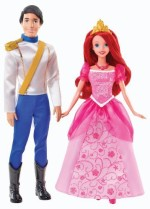 Mattel Dolls & Doll Houses Mattel Disney Princess Ariel and Eric Day Out Dolls
