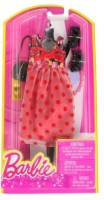 Barbie Dress Up Rose And Polka Dot Dress With Fashion Accessories (Multicolor)