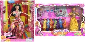 Amaya Pretty Fashion Doll265 Set Of 2