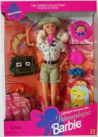 Barbie Paleontologist Special Edition Blond The Career Collection