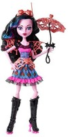 Monster High Freaky Fusion Dracubecca Doll (Multicolor)
