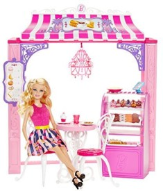 Barbie Life In The Dreamhouse Malibu Ave Bakery And Playset