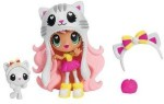 Spin Master Dolls & Doll Houses Spin Master Kawaii Crush Katie Cat Meow Meow Cuddly Pet Collection