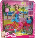 Barbie Fab Life Doll And Bike - Pink