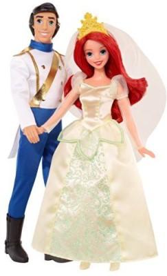 Mattel Dolls & Doll Houses Mattel Disney Princess The Little Mermaid Ariel And Eric Wedding