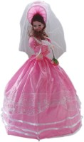 CP BIGBASKET Beautifull Musical Umbrella Doll - Pink - 24 Inch Toy For Kids (Pink)