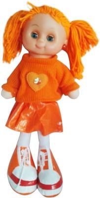 Amaya Dolls & Doll Houses Amaya Musical Doll with Led Light Orange